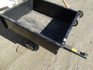 Agri fab utility 10 pull behind trailer