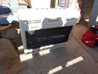 Glo Warm gas wall heater