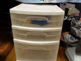4 drawer plastic organizer