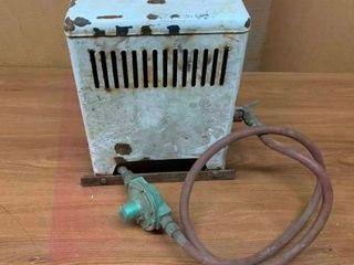 Vintage gas room heater