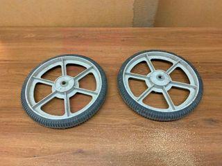 large lawn mower wheels