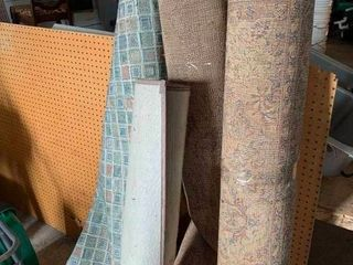 Variety of area rugs