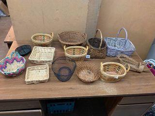 Variety of baskets