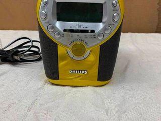 Philips CD clock radio player