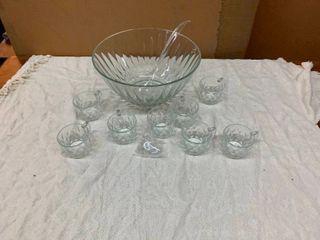 Punchbowl set
