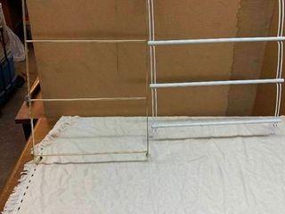 Over the door towel holders