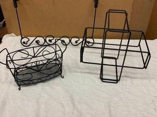 Variety of metal home decor