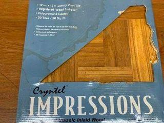 1 package of vinyl tile
