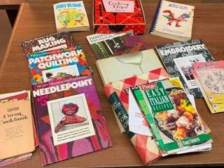 Variety of learning books