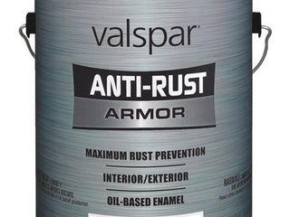 lot of 2  VAlSPAR 21800 Series 21805 Anti Rust Armor Oil Gloss Enamel  Gloss  Pastel Base  1 gal