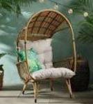 Maria Outdoor Standing Aicker Basket Chair