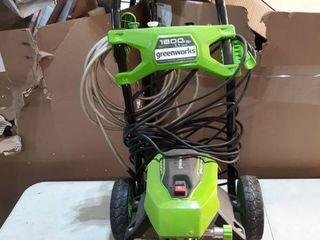 1800 PSI GreenWorks Electric Pressure Washer