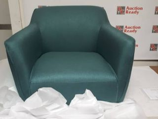 Alphonse Fabric Arm Chair Dark Teal