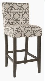 HomePop 24 inch Classic Parson Counter Stool