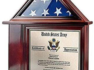 AtSKnSK Flag Display Case with Certificate Holder