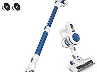 ORFElD Cordless Vacuum  Stick Vacuum Cleaner 4 in 1 with 17000pa Super Suction  Ultra lightweight   Quiet Handheld Vacuum for Home Hard Floor Carpet Car Pet