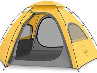 KAZOO Outdoor Camping Tent Family Durable Waterproof Camping Tent 2 3 Person