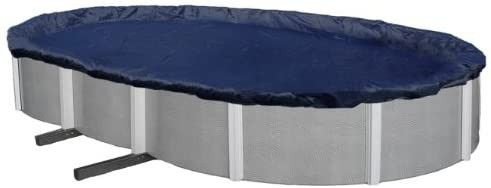 8 Year 18 ft x 34 ft Oval Above Ground Pool Winter Cover