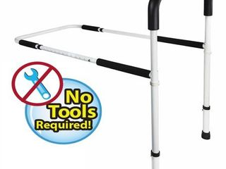 Medical Adjustable Home Bed Rail Handle   Hand Guard Assist Bar for Adults and Seniors  Bed Safety and Stability