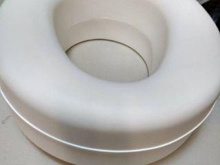 HealthSmart Portable Raised Toilet Seat