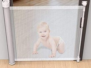 Retractable Baby and Pet Gate