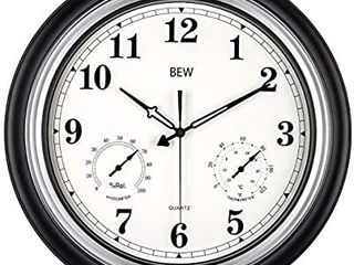 large Outdoor Clock  18 Inch