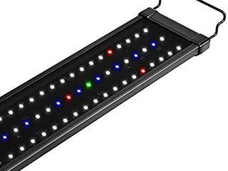 NICREW ClassiclED Plus Planted Aquarium light  Full Spectrum lED Fish Tank light for Freshwater Plants