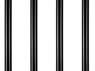 28 inch Adjustable Metal Desk legs  Office Table Furniture leg Set  Set of 4  Black no tops