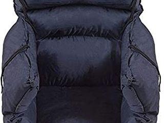 Comfort Wheelchair Cushion  Wheelchair Seat Cushion  Total Wheelchair Pillow  Recliner or Chair Cushion  Navy