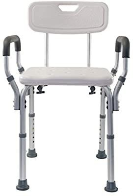 Essential Medical Supply Shower and Bath Bench with Arms and Back