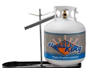 Flame King  KT20MNT  Dual RV Propane Cylinder Rack   RACK ONlY
