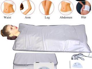Far Infrared Sauna Heating Blanket Body Shape Slimming Fitness Machine