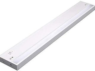 lED Under Cabinet lighting Fixture  Hardwired or Plug in  Warm White  2700K  24 inch  13W  800lm  linkable  On Off Switch Included