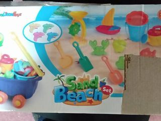 Fun little Toys Beach Toys For Kids Set Outdoor Toys For Kids Summer Fun Sand