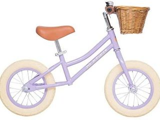 ACEGER Balance Bike for Kids with Basket  Ages 2 5 to 5 Years  Purple