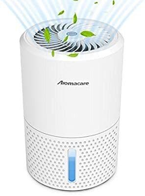 Aromacare Dehumidifier for Home  32 Ounce Ultra Quiet Small Dehumidifier