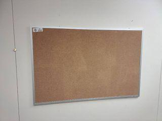Cork Board  Approx  35  x 23