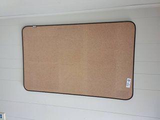 Cork Board  Approx  36  x 22