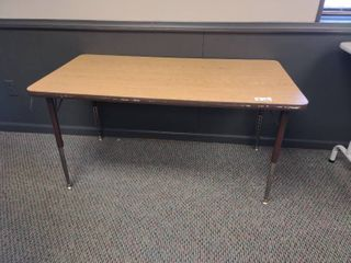 Small Rectangular Table  Approx  48  l x 24  W x 24  H
