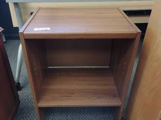 Small Wooden Shelf  Approx  20  l x 16  W x 27  H