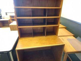 Wooden Organizer Shelf  Approx  36  l x 24  W x 68  H