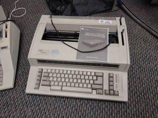 IBM Wheelrider 1000 Electric Typewriter