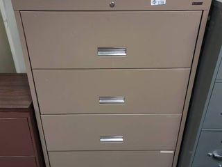 4 Drawer Metal lateral Filing Cabinet