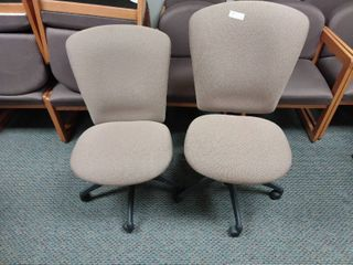 Set of 2 Rolling Office Chairs