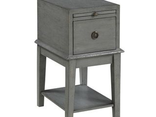 Somette One Drawer Accent Table  Retail 300 00