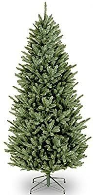 9 ft  Natural Fraser Slim Fir Tree with Clear lights  Retail 447 99