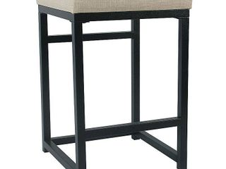 HomePop Open Back Metal 24  Counter Stool   24 inches  Retail 75 48