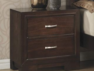 Providence lane Traditional Wood Nightstand  Retail 187 49