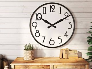 The Gray Barn large Wall Clock   33 H x 33 W x 2 5 D   Retail 148 99