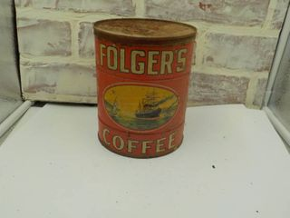 folgers coffee can